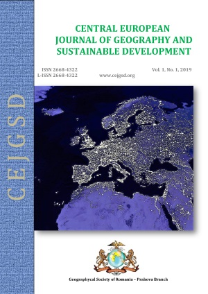 CEJGSD Geography Journal Cover